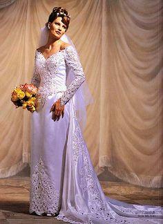 Wedding Dress Raso Seda | by Bride Satin