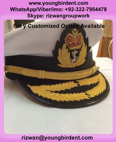 d6aae123b54 MALAYSIA NAVY PICKCAP PEAK CAP WITH DOUBLE LOUREL SUPPLIER Fully customized  option available Whatsapp Viber imo Wechat  0092-322-7954478 ...