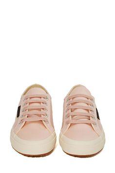 Superga X The Man Repeller Satin Sneaker - Light Pink | Shop Shoes at Nasty Gal