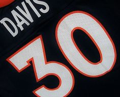 FREE U.S. Shipping! NFL Denver Broncos Terrell Davis Replica Jersey. Adult XXL. #Nikeoldschool #DenverBroncos