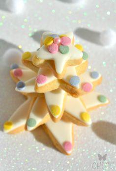 Arbol de navidad hecho con galletas | cookie christmas tree