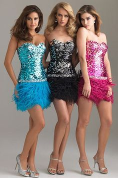 Size 2 Black Night Moves Short Party Prom Dress with Feathers 6402 at frenchnovelty.com