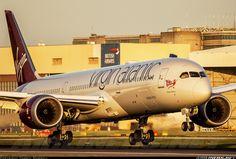 Virgin Atlantic Airways G-VZIG Boeing 787-9 Dreamliner aircraft picture