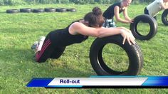 Top 36 great Car Tire Bootcamp Exercises. Total Body Fitness Work-Out
