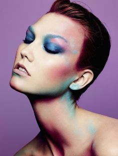 "Karlie Kloss in ""Color Power"" by Ben Hassett for L'Express Styles, April 2014"