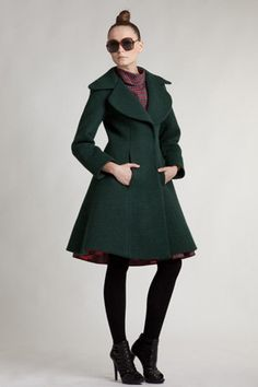 Custom Made 1940s Inspired Coat