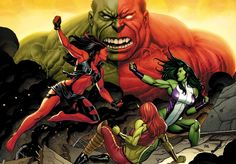 World War Hulks by Frank Cho