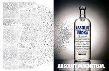 1994 USA   Absolut Magazine Advert