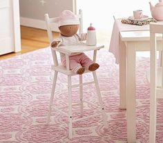 Baby Doll High Chair #PotteryBarnKids, for Miss Penny