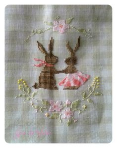 Stitcher: Joie De Vivre Design: The Snowflower Diaries: Spring Bunny Love (2013)