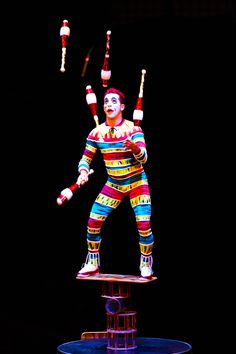 Balancing your holiday festivities just got a little easier. | La Nouba by Cirque du Soleil