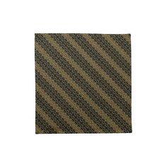 Black and Gold: Cloth Napkin: Set of 4