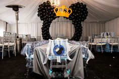 Prince Mickey Birthday Party Ideas | Photo 1 of 16 | Catch My Party