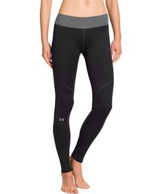 Another great find on #zulily! Asphalt Heather ColdGear® Devo Leggings by Under Armour® #zulilyfinds