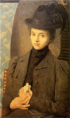 The Black Hat  - Julian Alden Weir