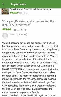 Tripadvisor Review Danai Spa At Corus Hotel Kuala Lumpur Trip Advisor Hotel Kuala Lumpur Tripadvisor Reviews