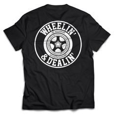 WHEELIN & DEALIN TEE - BLACK