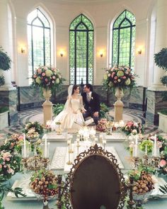 Sofreh Aghd by Bits and Blooms Inc. - Casa Loma Toronto #bitsandblooms #sofrehaghd