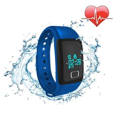 COOSA Smart Bracelet Bluetooth Bluetooth Waterproof OLED Touch Screen Pedometer Tracking Calorie Health Smart Wristband Sleep Monitor Call Reminder for Android iOS >>> To view further for this item, visit the image link. Ios, Smartphone, Smart Bracelet, Android, How To Stay Healthy, Fitness, Calories, Heart Rate, Sleep