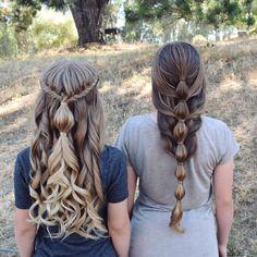 Bubble braids for days