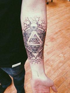 illuminati tattoos on arms