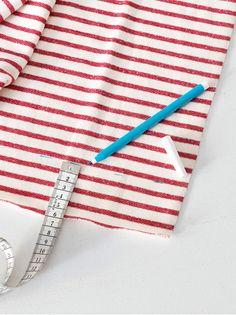 Trend: Marine. Strandtasche selber Nähen. Tie Clip, Inspiration, Accessories, Fashion, Fashion Styles, Craft Tutorials, Sewing Patterns, Projects, Biblical Inspiration