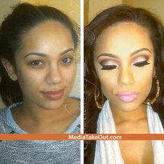 Check Out What LOVE AND HIP HOP STAR Erica Mena Looks Like WITHOUT Makeup . . . She Actually May Look BETTER!!! - MediaTakeOut.com™ 2014