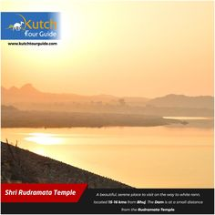 Kutch is #famous for barren White Rann and how would it be if you come to know that there is a beautiful #waterDam just at 15 to 16km from #Bhuj? This Dam is at a small distance from Rudramata Temple. Let's book a Rann Utsav Package and get this place included in it.