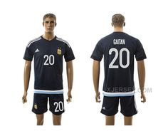 http://www.xjersey.com/argentina-20-gaitan-away-2016-copa-america-centenario-soccer-jersey.html ARGENTINA 20 GAITAN AWAY 2016 COPA AMERICA CENTENARIO SOCCER JERSEY Only 33.11€ , Free Shipping!