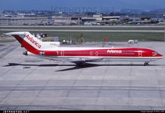 Avianca (Colombia) Boeing 727-2Q9(Adv) Boeing 727, Boeing Aircraft, Airport Photos, Commercial Aircraft, World Pictures, Photo Online, Military Aircraft, Cool Toys, Airplanes