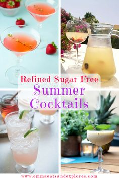 Refined SugarFree Cocktails - perfect for indulging in the summer. SCD, Paleo, Grainfree, Glutenfree & Dairyfree too. Great for BBQs and parties! Pina Colada, Tequila, Paleo, Keto, Partys, Non Alcoholic, Alcoholic Beverages, Cocktail Recipes, Drink Recipes