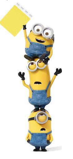 Pantone amarillo minion