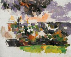 """""""El jardín de Lauves"""", 1906. En los últimos años de vida, Cézanne pinta algunas de las obras maestras del arte del siglo XX."""