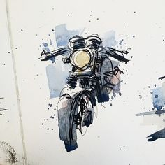 New Ideas – Motorrad Motorcycle Tattoos, Motorcycle Posters, Motorcycle Art, Bike Art, Women Motorcycle, Motorcycle Wheels, Art Moto, Art Sketches, Art Drawings