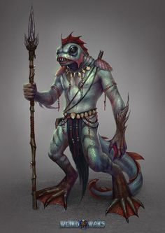Art featuring merfolk and all sorts of aquatic humanoid creatures. Fantasy Monster, Monster Art, Character Inspiration, Character Art, Character Design, Creature Feature, Creature Design, Fantasy Creatures, Sea Creatures