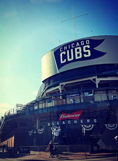 Chicago Photography, Wrigley Field photo, Chicago Cubs baseball, Chicago Photo, Chicago Art, vintage marquee, sports, architecture, men by helenesmith on Etsy