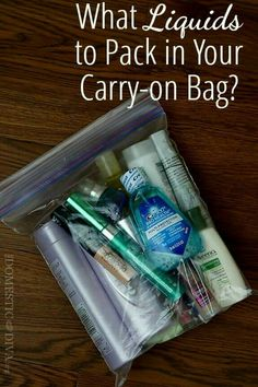 Limit to 1 quart-sized bag of liquids, aerosols, gels, creams and pastes in your carry-on bag. Travel Makeup Tips: What Liquids to Pack in Your Carry-on Bag. Travelling Tips, Packing Tips For Travel, Travel Essentials, Travel Hacks, Travel Ideas, Traveling Europe, Travel Advice, Packing Hacks, Backpacking Europe
