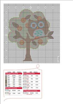 """Direct link to pattern file is http://mos.futurenet.com/pdf/CrossStitcher/245.owl.pdf  (See also http://crossstitcher.themakingspot.com/downloads for this free cross-stitch pattern and more freebies from UK's CrossStitcher Magazine (under their website's """"downloads"""" tab); also now available in digital form on iPad.)"""
