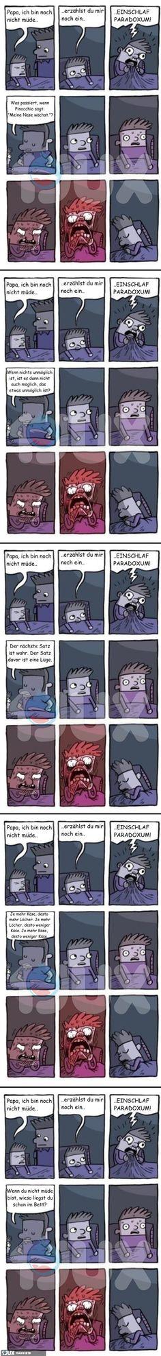 Das Einschlaf-Paradox!