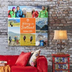 Design Your Own Canvas Art Prints Canvas Art Prints, Canvas Wall Art, Scotland Hiking, Personalised Canvas, Art Bag, Photo Canvas, Photomontage, Perfect Photo, Design Your Own