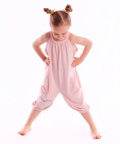 Look at this Dodo Rose Heart Yoke Jumpsuit - Toddler & Girls on #zulily today!