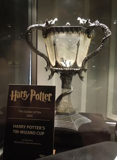 Harry Potter Triwizard Cup prop