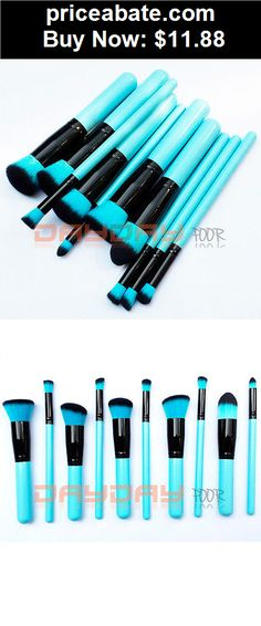 Beauty-Makeup: Pro 10pcs Makeup Brushes Set Cosmetic Foundation Blending Blush Brush Kabuki Kit - BUY IT NOW ONLY $11.88