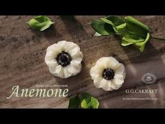 How to pipe the Anemone (Korean Buttercream Flowercake ) - YouTube