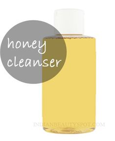 #DIY honey-cleanser-blemish-and-acne-free-skin