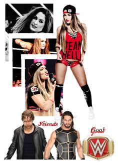 """""""My Woman Wrestler, Nikki Bella - @jet-black-fart"""" by caton-486 ❤ liked on Polyvore"""