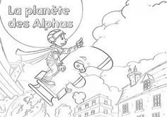 Nice La Planete Des Alphas Coloriage that you must know, Youre in good company if you?re looking for La Planete Des Alphas Coloriage Alpha Alpha, Core French, Learning To Write, Phonemic Awareness, French Lessons, Teaching French, Letter Sounds, Good Company, Design Reference