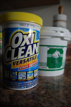 oxyclean and water to clean grout