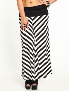 #Love Culture             #Skirt                    #Striped #Jersey #Maxi #Skirt                       Striped Jersey Maxi Skirt                           http://www.seapai.com/product.aspx?PID=4459