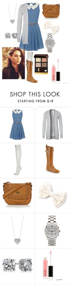 Pretty Little LiArs Style SteAl SeAson Four Series: Spencer HAstings by whitneyclaire-1 on Polyvore featuring moda, Anna Field, Falke, Michael Kors, Mantaray, Blue Nile and Tom Ford